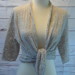 Eileen Fisher Ivory Cardigan
